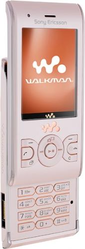 Sony Ericsson W595 розовый