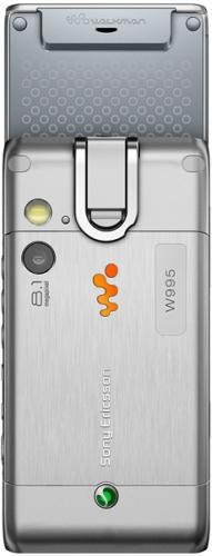 Sony Ericsson W995 серебристый