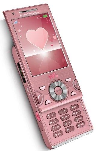 Sony Ericsson W995 розовый