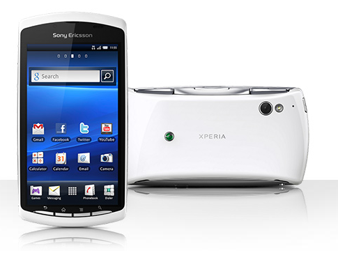 Sony Ericsson Xperia Play (R800) белый