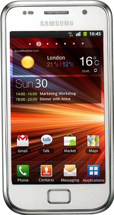 Samsung Galaxy S Plus I9001 белый