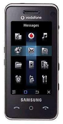 Samsung SGH-F490 черный