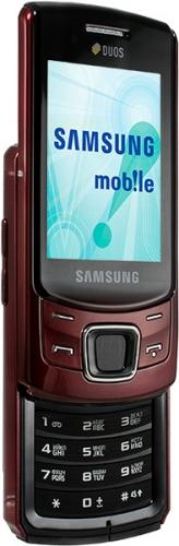 Samsung C6112 красный