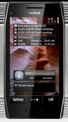 Nokia X-7 Wi-Fi - черный