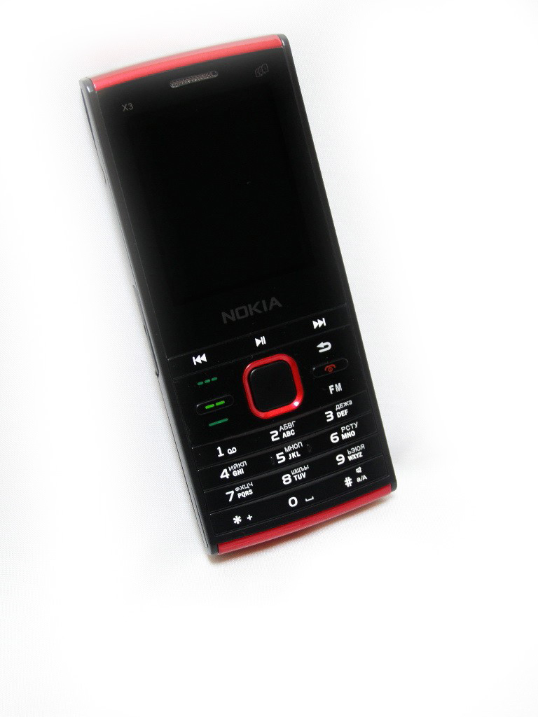 Nokia X-3 - черный