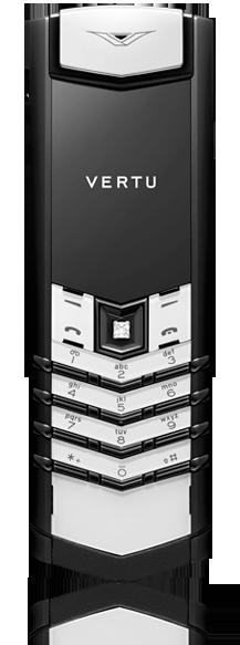 Vertu Signature S Design Black And White