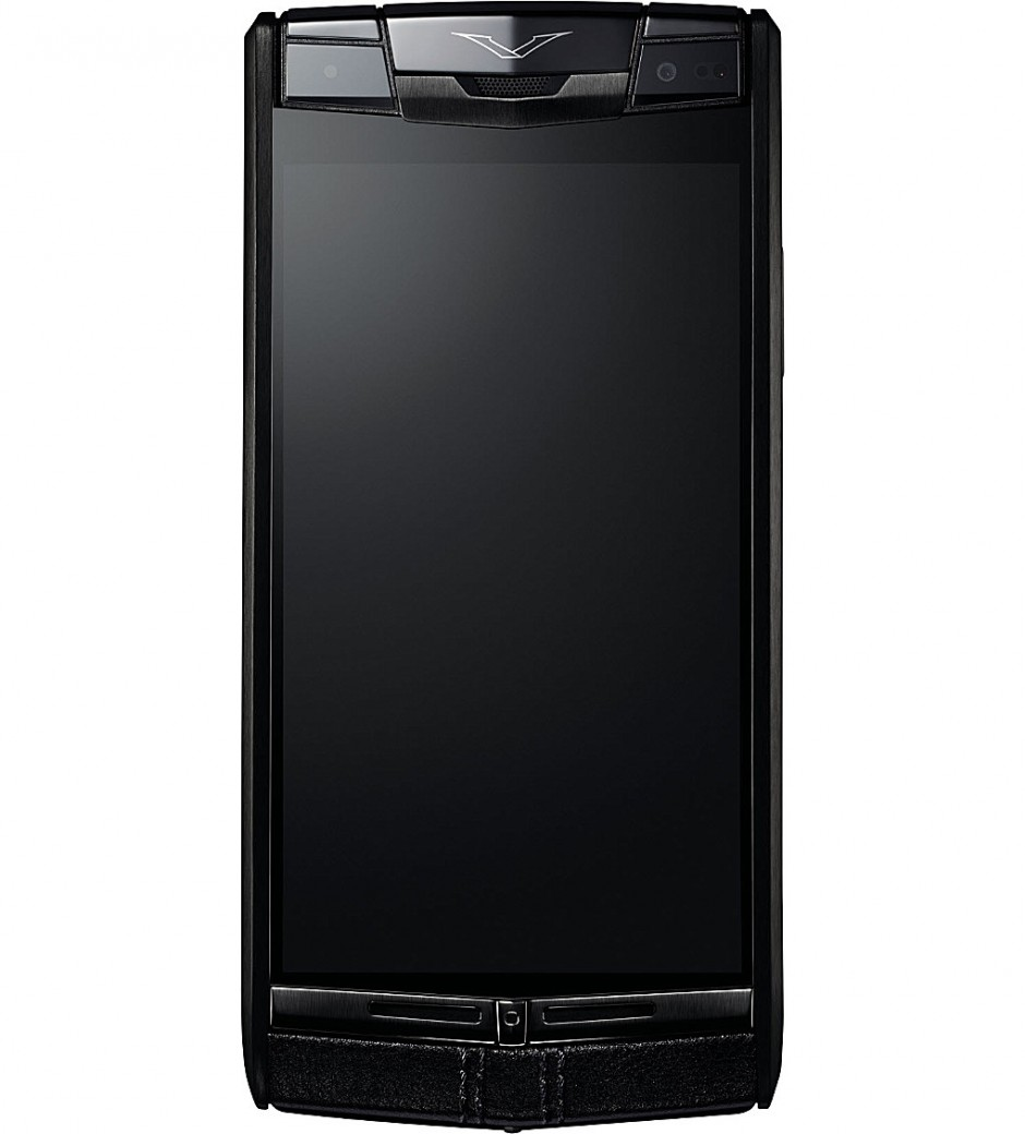 Vertu Signature Touch Pure Jet Calf