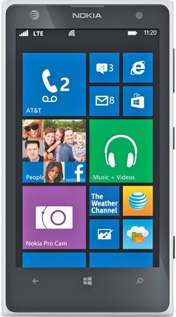 Nokia Lumia 1020 Белый