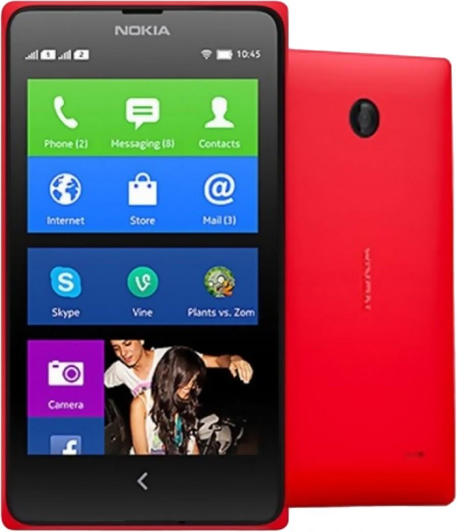 Nokia X Dual SIM Красный