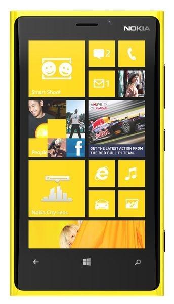Nokia Lumia 920 Желтый