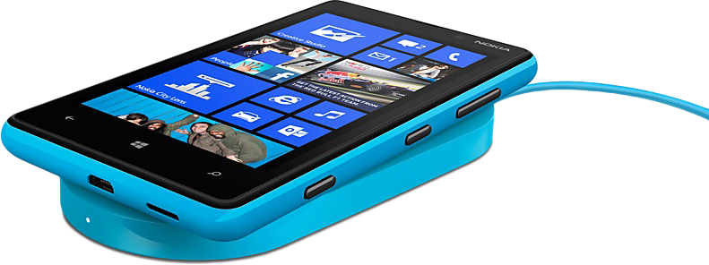 Nokia Lumia 820 Голубой