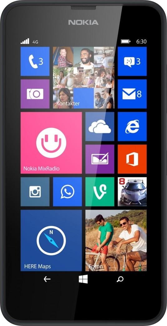 Nokia Lumia 635 Черный
