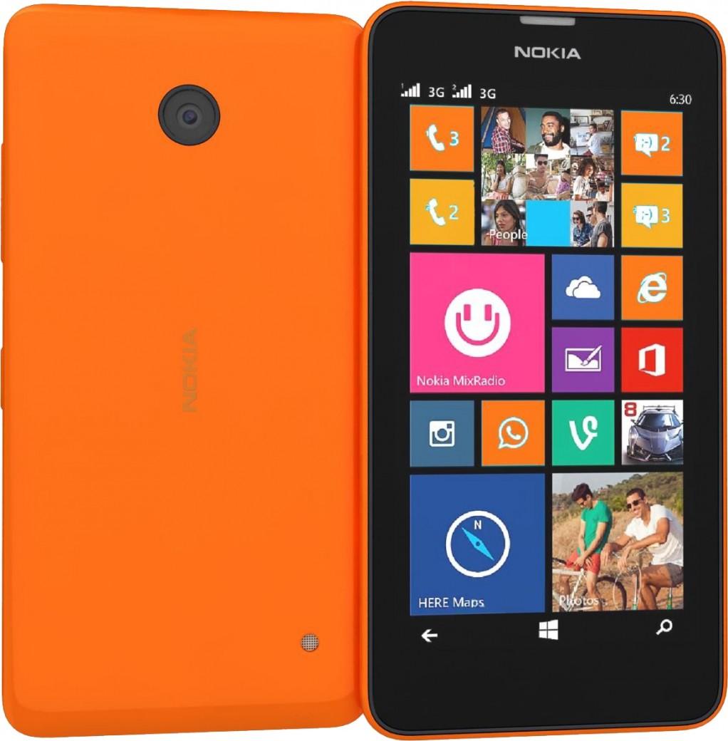 Nokia Lumia 635 Оранжевый