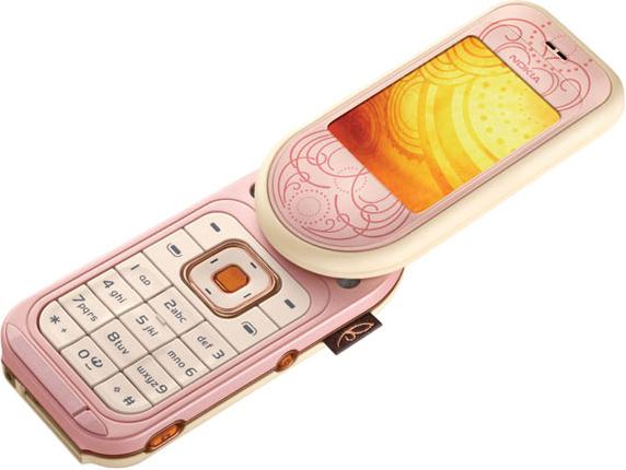 Nokia 7373 Розовый