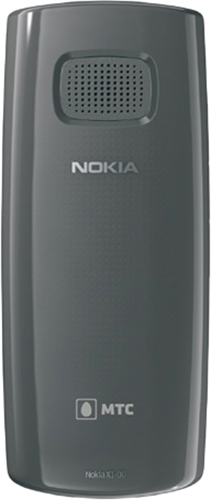 Nokia X1-01 Черный