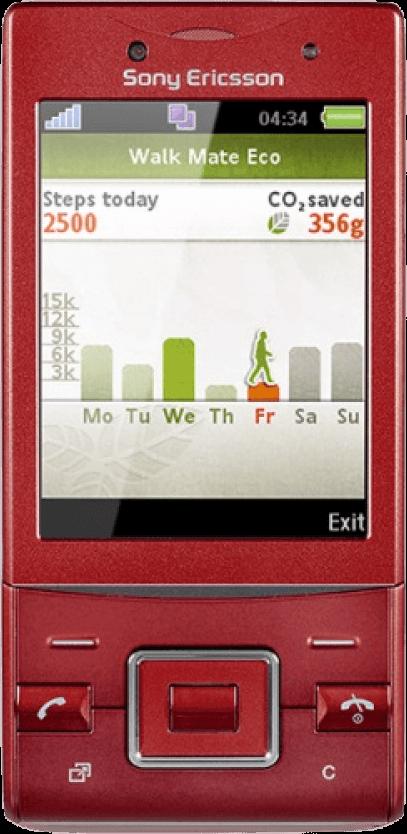 Sony Ericsson Hazel J20i Красный