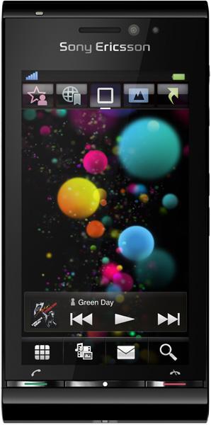 Sony Ericsson U1i Satio Черный