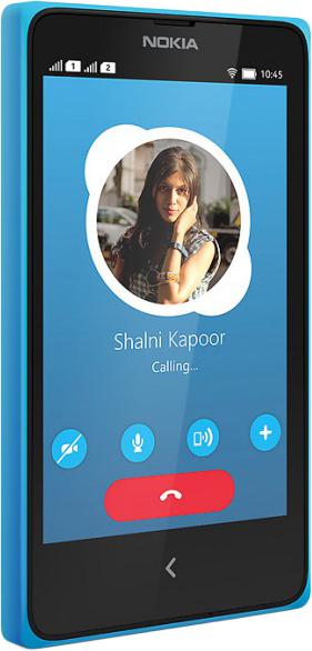 Nokia X 2 sim (синий)