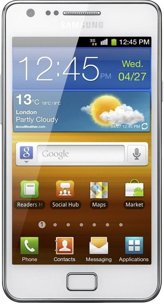 Samsung Galaxy S II GT-I9100 (белый)