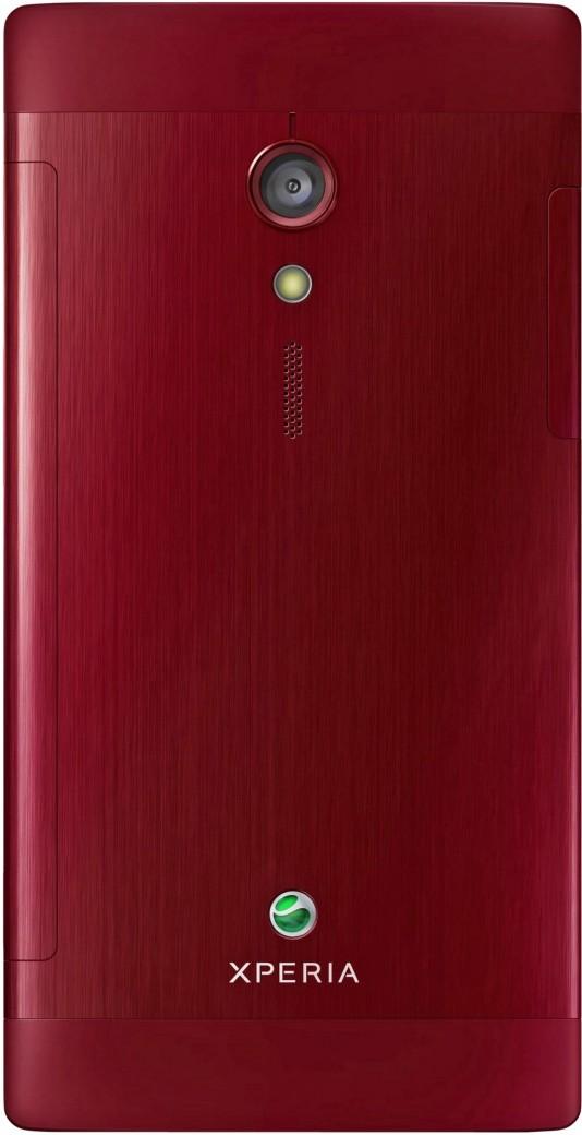 Sony Xperia ion (красный)