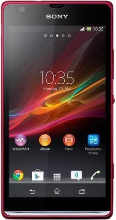Sony Xperia SP (красный)