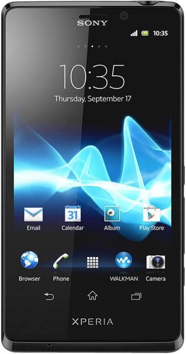 Sony Xperia T (черный)