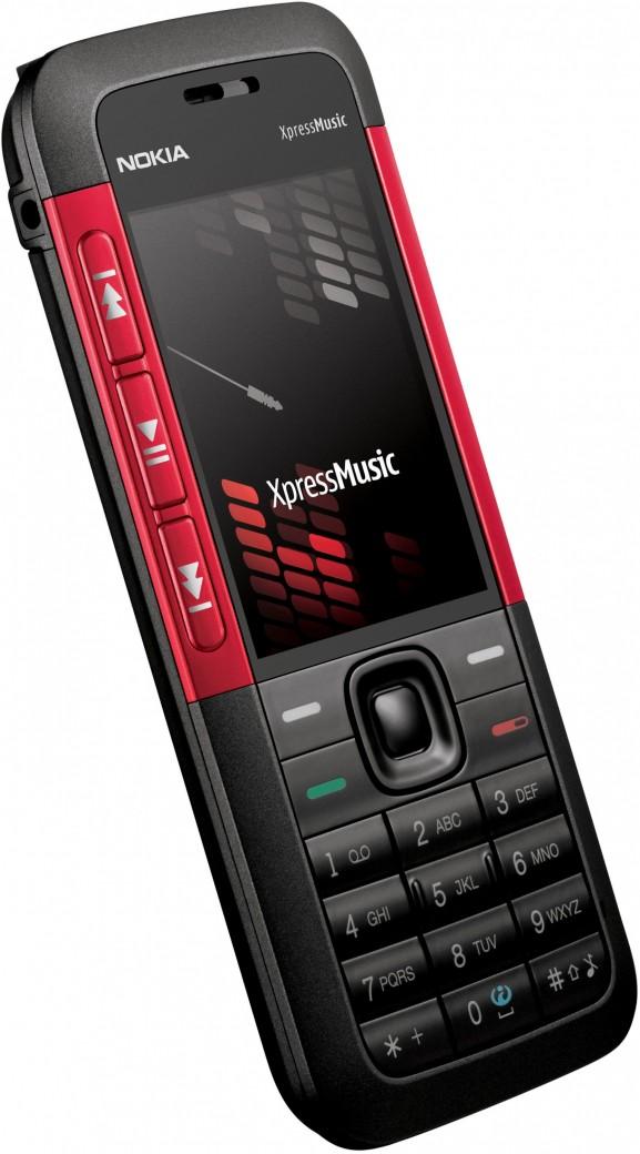 Nokia 5310 XpressMusic (красный)