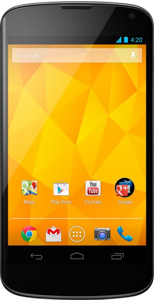 LG Nexus 4 (черный)