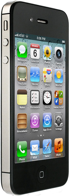 Apple iPhone 4S 64 Гб BLACK (Черный)