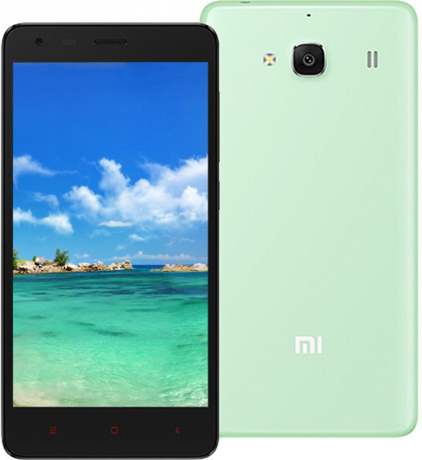 Xiaomi Redmi 2 (зеленый)