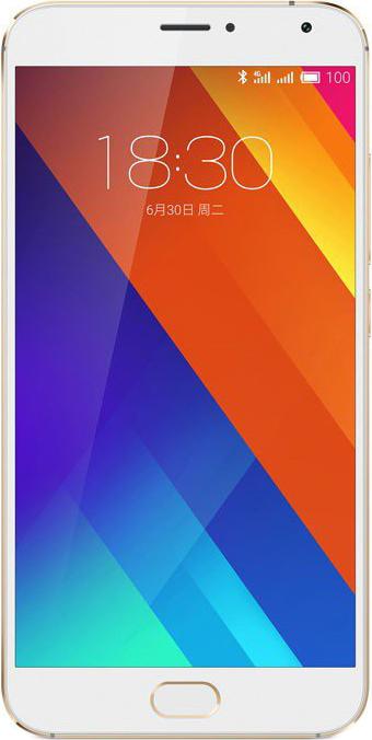 Meizu MX5 (золотистый)