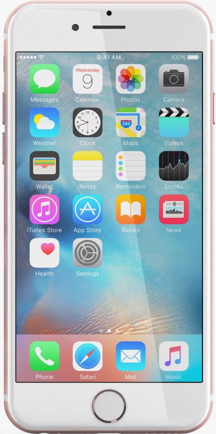 Apple iPhone 6s 128GB Rose Gold (розовое золото)