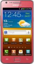 Samsung Galaxy S II i9100 - розовый