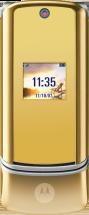 Motorola KRZR K1 Gold