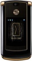 Motorola RAZR V8 Luxury Edition