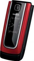 Nokia 6555 красно-черная