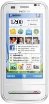 Nokia C6-00 белая