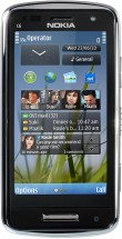 Nokia C6-01 серебристая