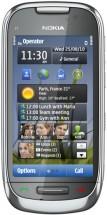 Nokia C7-00 серебристая