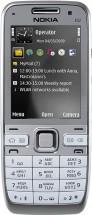 Nokia E52 серебристая
