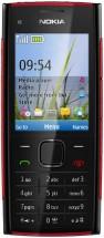 Nokia X2-00 черно-красная