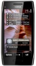 Nokia X7-00 серебристая