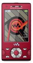 Sony Ericsson W995 красный