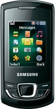 Samsung Monte Slider GT-E2550 Черный