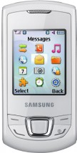 Samsung Monte Slider GT-E2550 Белый